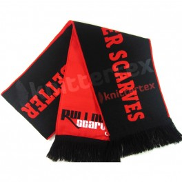 Double Layered High Quality Woven Sports Scarf
