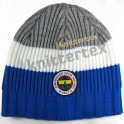 Mixed Ribbed Knit Three Colored Team Beanie